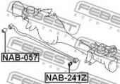 Febest NAB-057 Сайлентблок