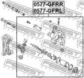 Febest 0577-GFRL Гальмівний супорт