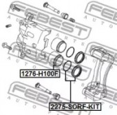 Febest 1276-H100F Поршень гальмівного суппорта