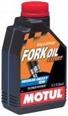 Motul Fork Oil Expert Medium Heavy 15W Синтетическое масло для мотовилок