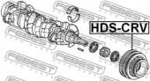 Febest HDS-CRV Шків