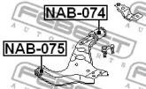 Febest NAB-074 Сайлентблок