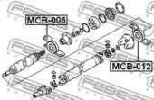 Febest MCB-005 Підшипник