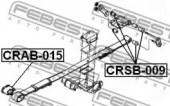 Febest CRAB-015 Сайлентблок