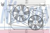 Nissens 85610 Вентилятор