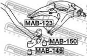 Febest MAB-150 Сайлентблок