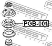 Febest PGB-001 Пiдшипник опори амортизатора