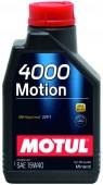 Motul 4000 MOTION SAE 10W-30 Минеральное моторное масло