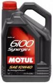 Motul 6100 Synergie + 10W-40 Полусинтетическое моторное масло