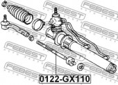 Febest 0122-GX110 Рульова тяга