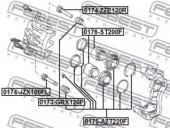 Febest 0176-ST200F Поршень гальмівного суппорта