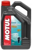 Motul Outboard Tech 2T Полусинтетическое масло для 2Т двигателей водного транспорта