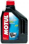 Motul Inboard Tech 4T полусинтетическое масло для 4-Т двигателей водного транспорта 10W-40