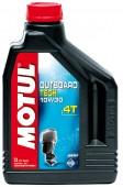 Motul Outboard Tech 4T полусинтетическое масло для 4-Т двигателей водного транспорта 10W-30