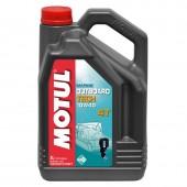 Motul Outboard Tech 4T полусинтетическое масло для 4-Т двигателей водного транспорта  10W-40