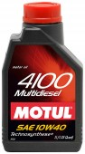 Motul 4100 MULTIDIESEL SAE 10W-40 ����������������� �������� �����