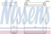 Nissens 72038 Радiатор