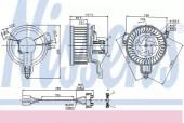 Nissens 87048 Вентилятор опалення