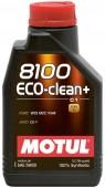 Motul 8100 ECO-CLEAN + SAE 5W-30 Синтетическое моторное масло