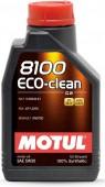 Motul 8100 ECO-CLEAN SAE 5W-30 Синтетическое моторное масло