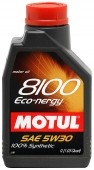 Motul 8100 ECO-NERGY SAE 5W-30 Синтетическое моторное масло
