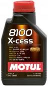Motul 8100 X-CESS SAE 5W-40 Синтетическое моторное масло