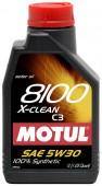 Motul 8100 X-CLEAN SAE 5W-30 Синтетическое моторное масло
