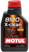 Motul 8100 X-CLEAN GEN2 5W-40 Синтетическое моторное масло