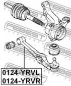 Febest 0124-YRVR Важіль підвіски
