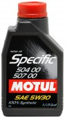 Motul SPEC 504-507 5W-30 ������������� �������� �����