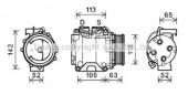 Ava HDAK238 Компресори кондицiонерiв