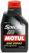 Motul SPECIFIC VW 505.01-502.00-505.00 SAE 5W-40 Синтетическое моторное масло
