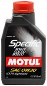 Motul SPECIFIC VW 506.01-506.00-503.00 SAE 0W-30 Синтетическое моторное масло