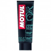 Motul E6 Chrome & Alu Polish Средство для придания блеска мотоциклу