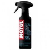 Motul Средство для восстановления лаков и красок Motul E1 WASH & WAX