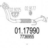 Mts 01.17990 Передня труба вихл. системи