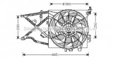 Ava OL7505 Вентилятор (комплект)