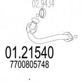 MTS 01.21540 Передня труба вихл. системи