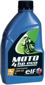 ELF Moto 4 HP Eco 10W-40 Синтетическое масло для снегоходов и мотоциклов