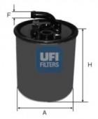 Ufi 24.416.00 Паливний фільтр