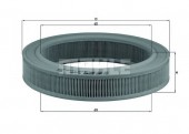 MAHLE LX 113 воздушный фильтр