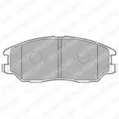 Delphi LP1857 Комплект тормозных колодок