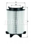 MAHLE LX 1566 воздушный фильтр