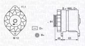 Magneti Marelli 063321044010 Генератор