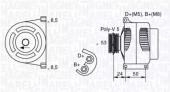 Magneti Marelli 063377006010 Генератор