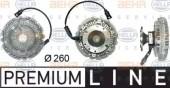 Hella 8MV 376 730-051 Сцепление