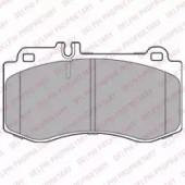 Delphi LP2304 Комплект тормозных колодок