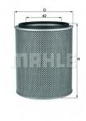 MAHLE LX 47 воздушный фильтр