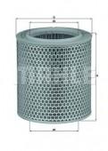 MAHLE LX 478/1 воздушный фильтр