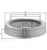 MAHLE LX 61 воздушный фильтр